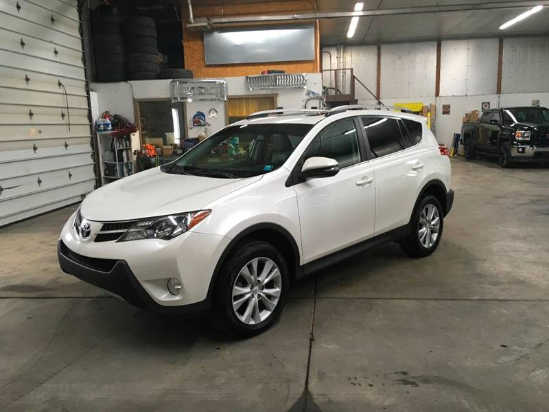 2013 Toyota RAV4 for sale at T James Motorsports in Gibsonia PA