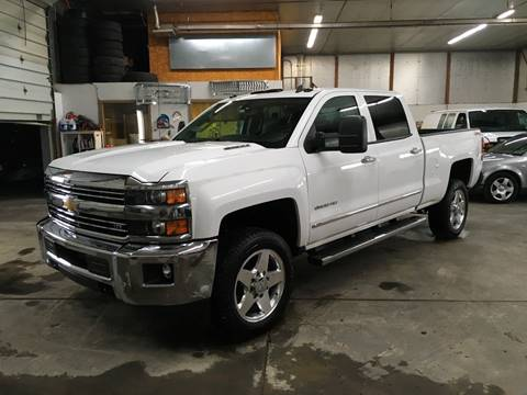 2015 Chevrolet Silverado 2500HD for sale at T James Motorsports in Gibsonia PA