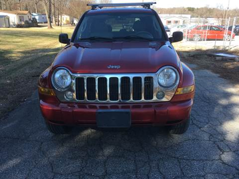 2007 Jeep Liberty for sale at Speed Auto Mall in Greensboro NC