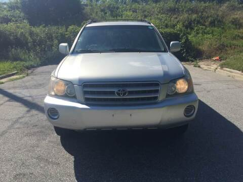 2003 Toyota Highlander for sale at Speed Auto Mall in Greensboro NC