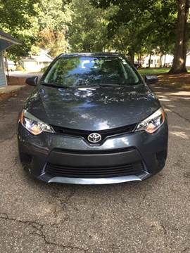 2014 Toyota Corolla for sale at Speed Auto Mall in Greensboro NC