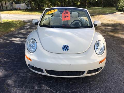 2006 Volkswagen Beetle Convertible for sale at Speed Auto Mall in Greensboro NC