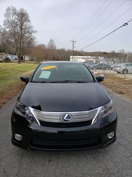 2010 Lexus HS 250h for sale at Speed Auto Mall in Greensboro NC
