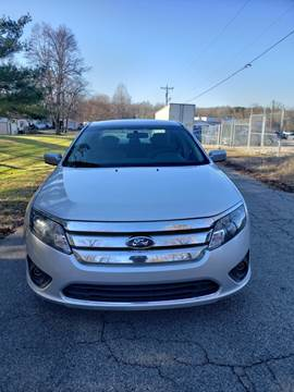 2012 Ford Fusion for sale at Speed Auto Mall in Greensboro NC