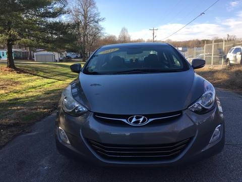 2012 Hyundai Elantra for sale at Speed Auto Mall in Greensboro NC