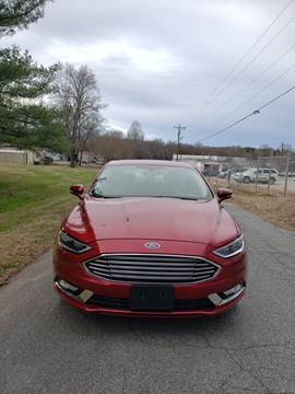 2017 Ford Fusion Hybrid for sale at Speed Auto Mall in Greensboro NC