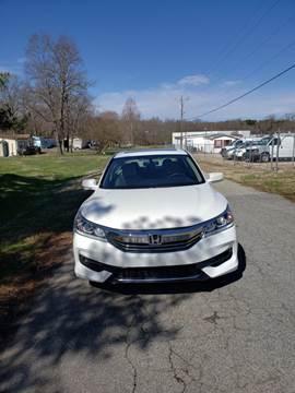 2016 Honda Accord for sale at Speed Auto Mall in Greensboro NC