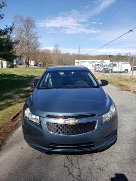 2012 Chevrolet Cruze for sale at Speed Auto Mall in Greensboro NC