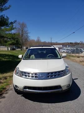 2007 Nissan Murano for sale at Speed Auto Mall in Greensboro NC
