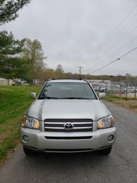 2006 Toyota Highlander Hybrid for sale at Speed Auto Mall in Greensboro NC