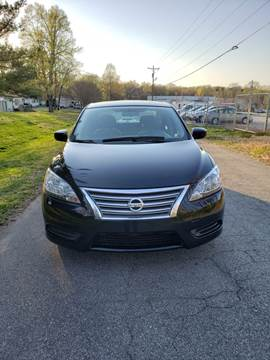 2013 Nissan Sentra for sale at Speed Auto Mall in Greensboro NC