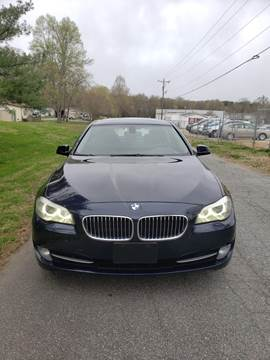 2012 BMW 5 Series for sale at Speed Auto Mall in Greensboro NC