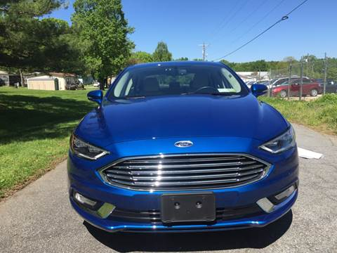 2018 Ford Fusion Hybrid for sale at Speed Auto Mall in Greensboro NC