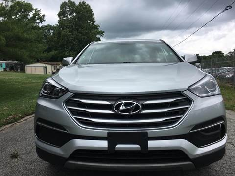 2018 Hyundai Santa Fe Sport for sale at Speed Auto Mall in Greensboro NC