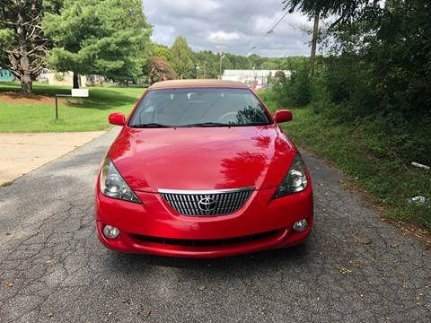 2004 Toyota Camry Solara for sale at Speed Auto Mall in Greensboro NC