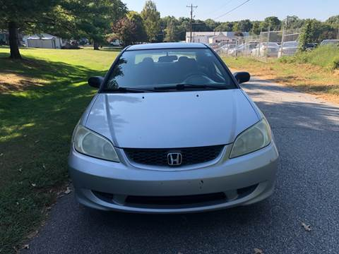 2004 Honda Civic for sale at Speed Auto Mall in Greensboro NC