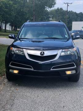 2012 Acura MDX for sale at Speed Auto Mall in Greensboro NC