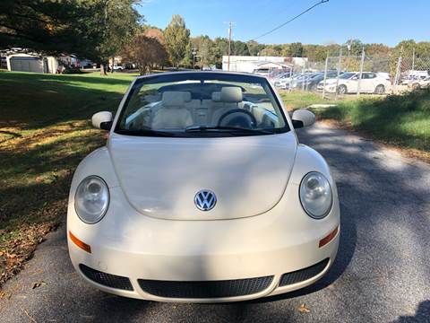 2008 Volkswagen New Beetle for sale at Speed Auto Mall in Greensboro NC