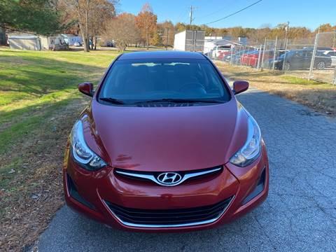 2014 Hyundai Elantra for sale in Greensboro, NC