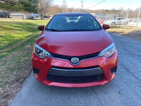 2015 Toyota Corolla for sale at Speed Auto Mall in Greensboro NC
