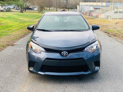 2016 Toyota Corolla for sale at Speed Auto Mall in Greensboro NC