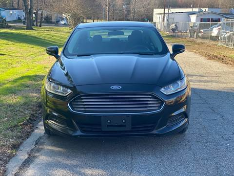 2015 Ford Fusion SE for sale at Speed Auto Mall in Greensboro NC