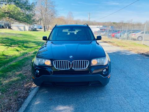 2007 BMW X3 for sale at Speed Auto Mall in Greensboro NC