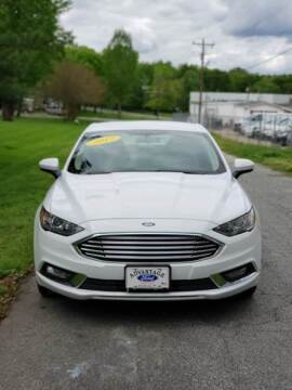2017 Ford Fusion for sale at Speed Auto Mall in Greensboro NC