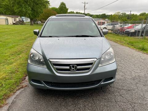 2007 Honda Odyssey for sale at Speed Auto Mall in Greensboro NC