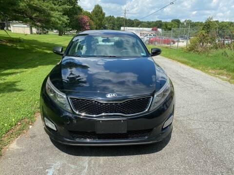 2015 Kia Optima for sale at Speed Auto Mall in Greensboro NC