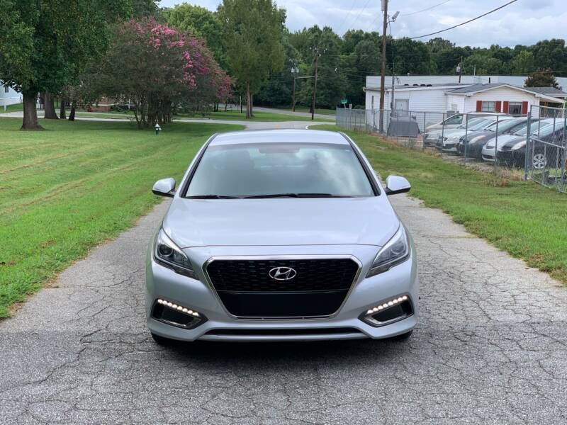 2016 Hyundai Sonata Hybrid for sale at Speed Auto Mall in Greensboro NC