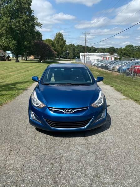 2014 Hyundai Elantra for sale at Speed Auto Mall in Greensboro NC