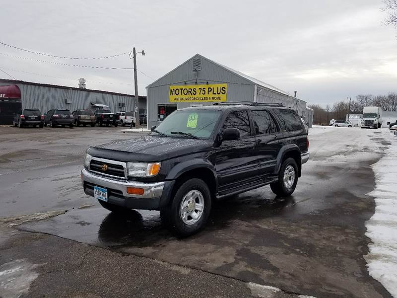 1997 Toyota 4Runner For Sale At Motors 75 Plus In Saint Cloud MN