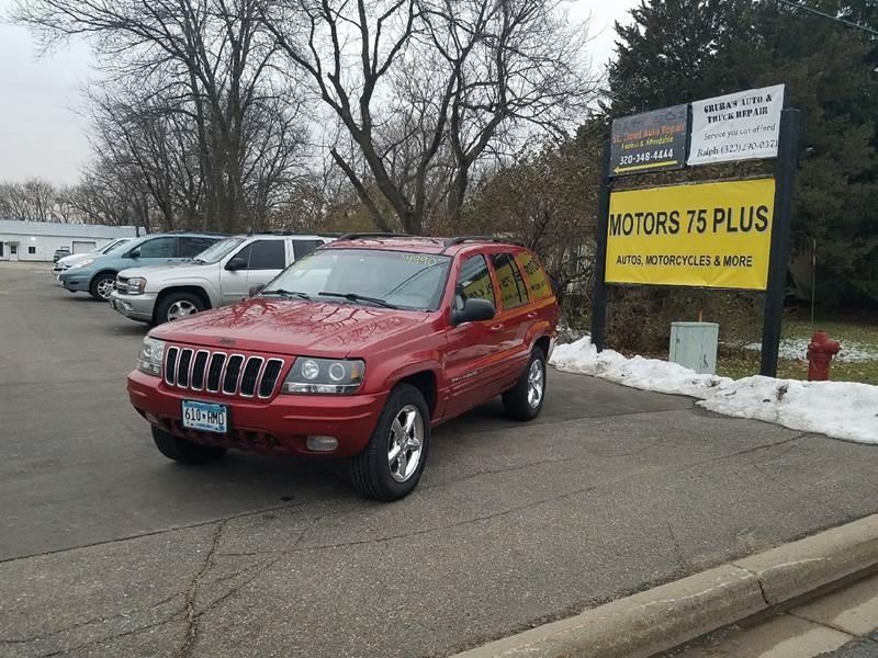 2002 Jeep Grand Cherokee For Sale At Motors 75 Plus In Saint Cloud MN