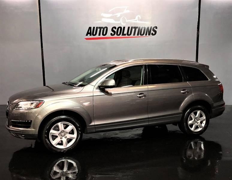 2010 Audi Q7 36 Quattro Premium Plus In Ridgeland Ms Auto Solutions