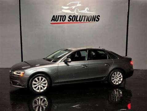 2013 Audi A4 for sale in Ridgeland, MS