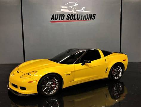 2013 Chevrolet Corvette Z06 for sale at Auto Solutions of MS in Ridgeland MS