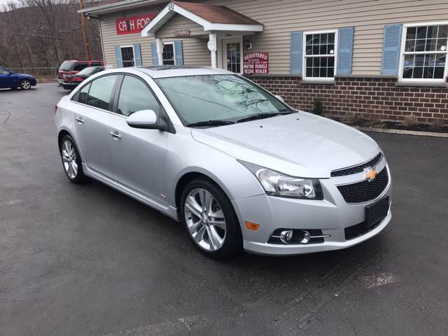 2012 Chevrolet Cruze For Sale At Super Wheels Auto Sales In Beacon NY