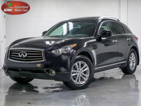 Infiniti Cars For Sale >> 2013 Infiniti Fx37 For Sale In Lansing In