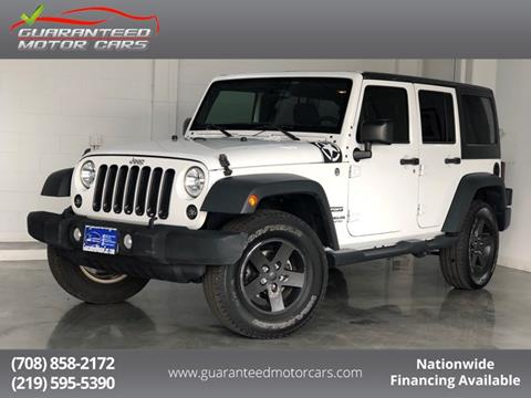 2015 Jeep Wrangler Unlimited for sale in Lansing, IN