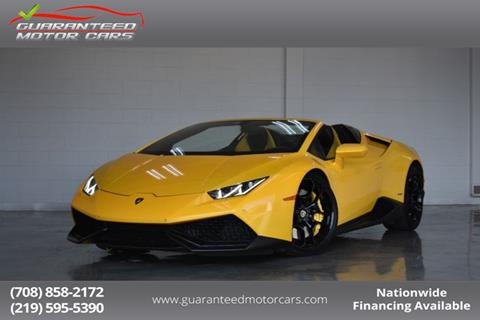 2016 Lamborghini Huracan For Sale In Lansing In