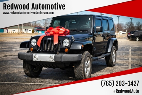 2010 Jeep Wrangler Unlimited for sale in Anderson, IN
