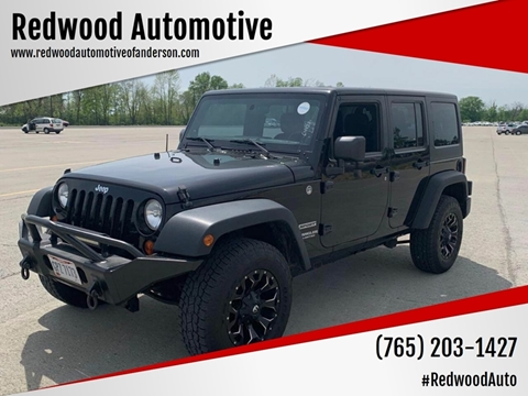 2013 Jeep Wrangler Unlimited for sale in Anderson, IN