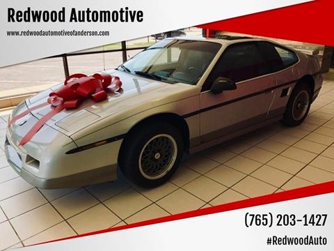 1986 Pontiac Fiero for sale in Anderson, IN