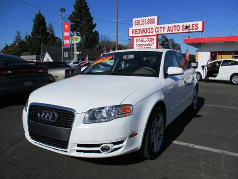 2007 Audi A4 for sale at Redwood City Auto Sales in Redwood City CA