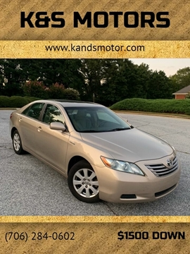 2007 Toyota Camry Hybrid for sale in Loganville, GA
