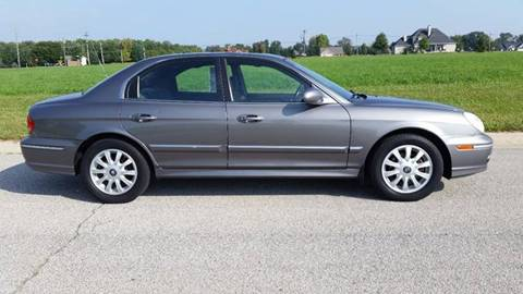 2004 Hyundai Sonata for sale at Ryan Motors LLC in Warsaw IN