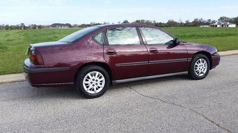 2003 Chevrolet Impala for sale at Ryan Motors LLC in Warsaw IN