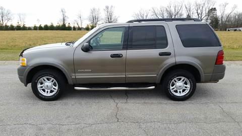 2002 Ford Explorer for sale at Ryan Motors LLC in Warsaw IN