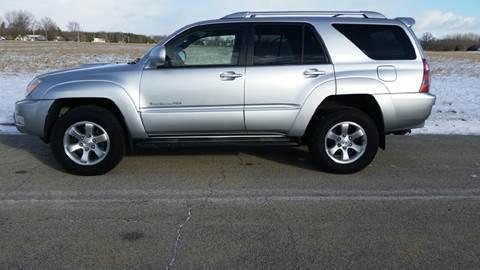 2004 Toyota 4Runner for sale at Ryan Motors LLC in Warsaw IN